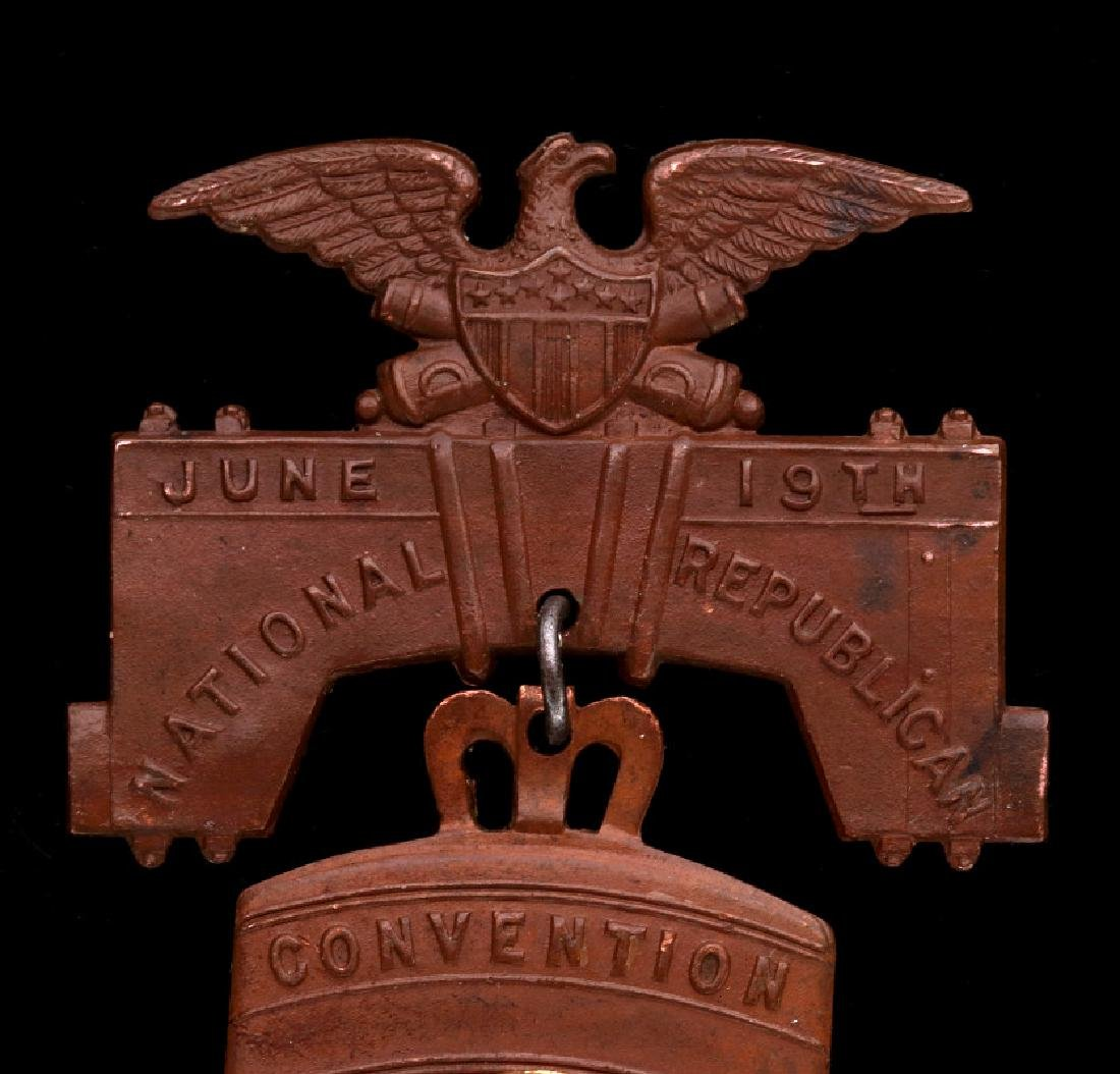 LIBERTY BELL MEDAL, THE 1900 REPUBLICAN CONVENTION - 2