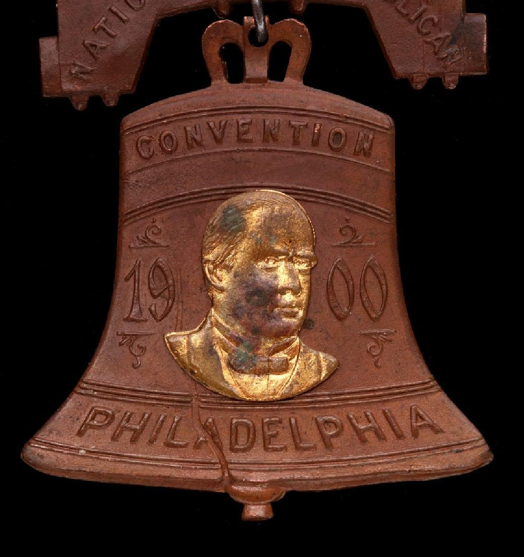 LIBERTY BELL MEDAL, THE 1900 REPUBLICAN CONVENTION - 3