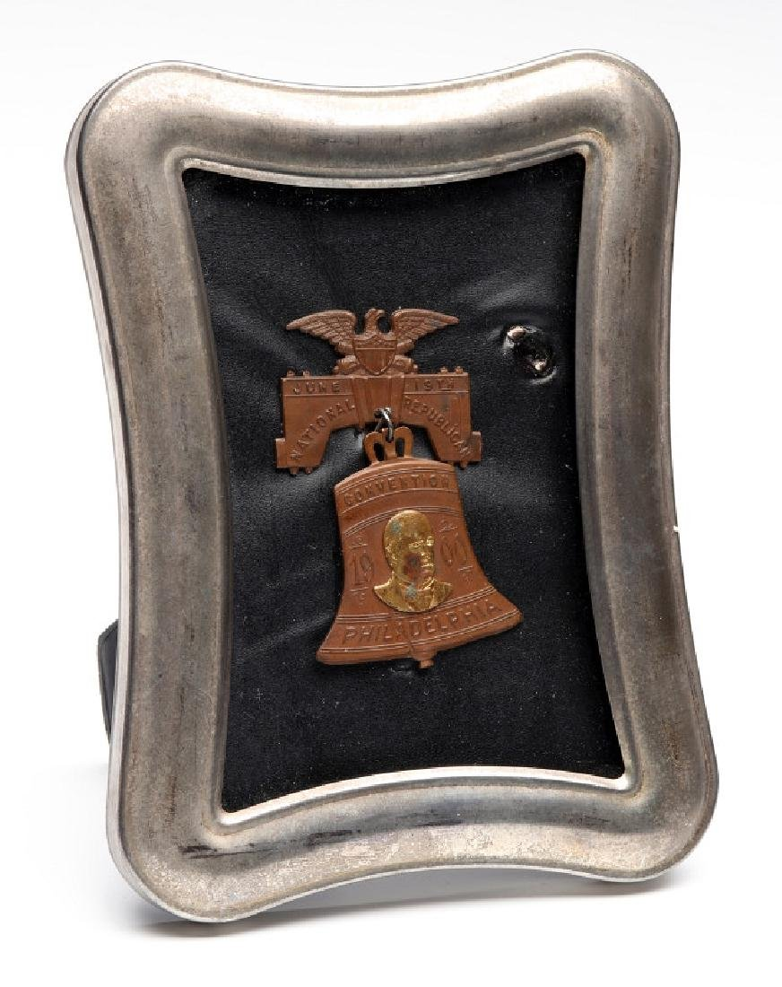 LIBERTY BELL MEDAL, THE 1900 REPUBLICAN CONVENTION - 5