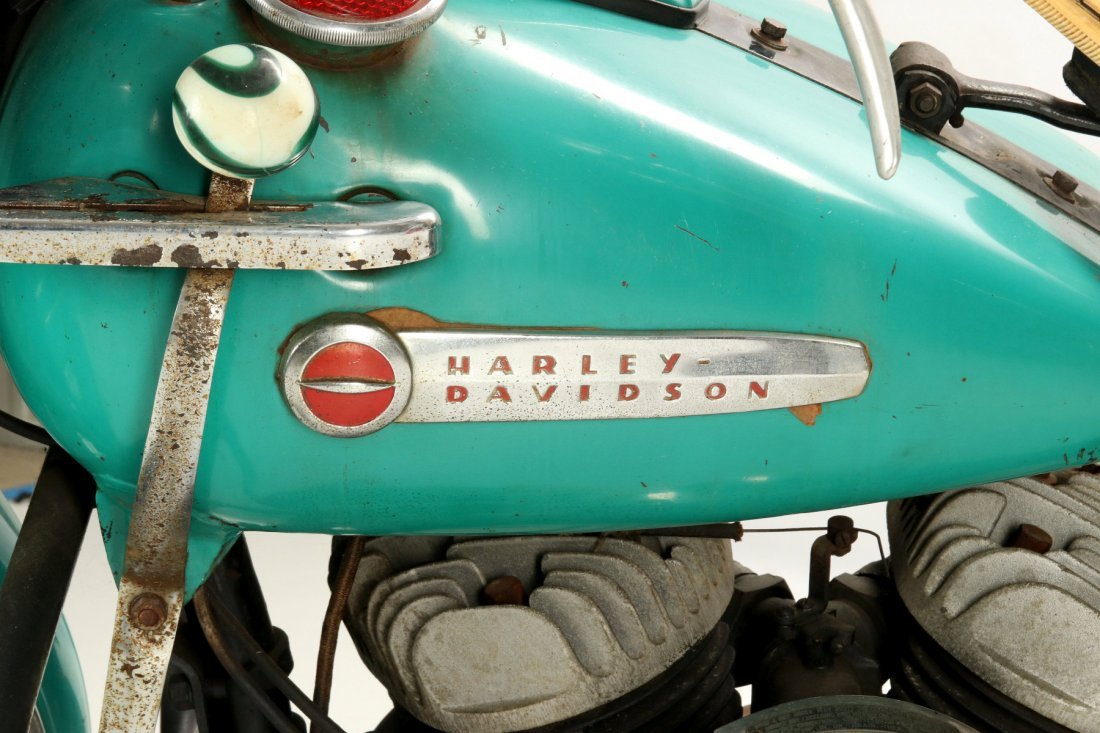 A '49 HARLEY DAVIDSON 45 FLATHEAD - 6
