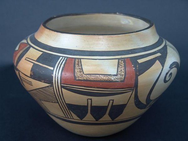 23: HOPI POTTERY OLLA BY FROG WOMAN