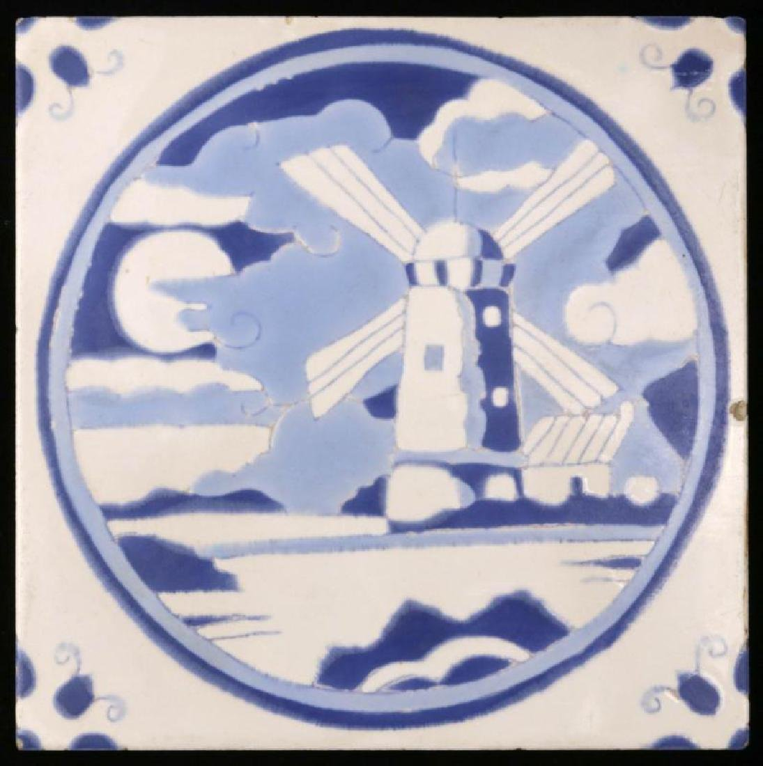 A GLADDING McBEAN HERMOSA ART TILE