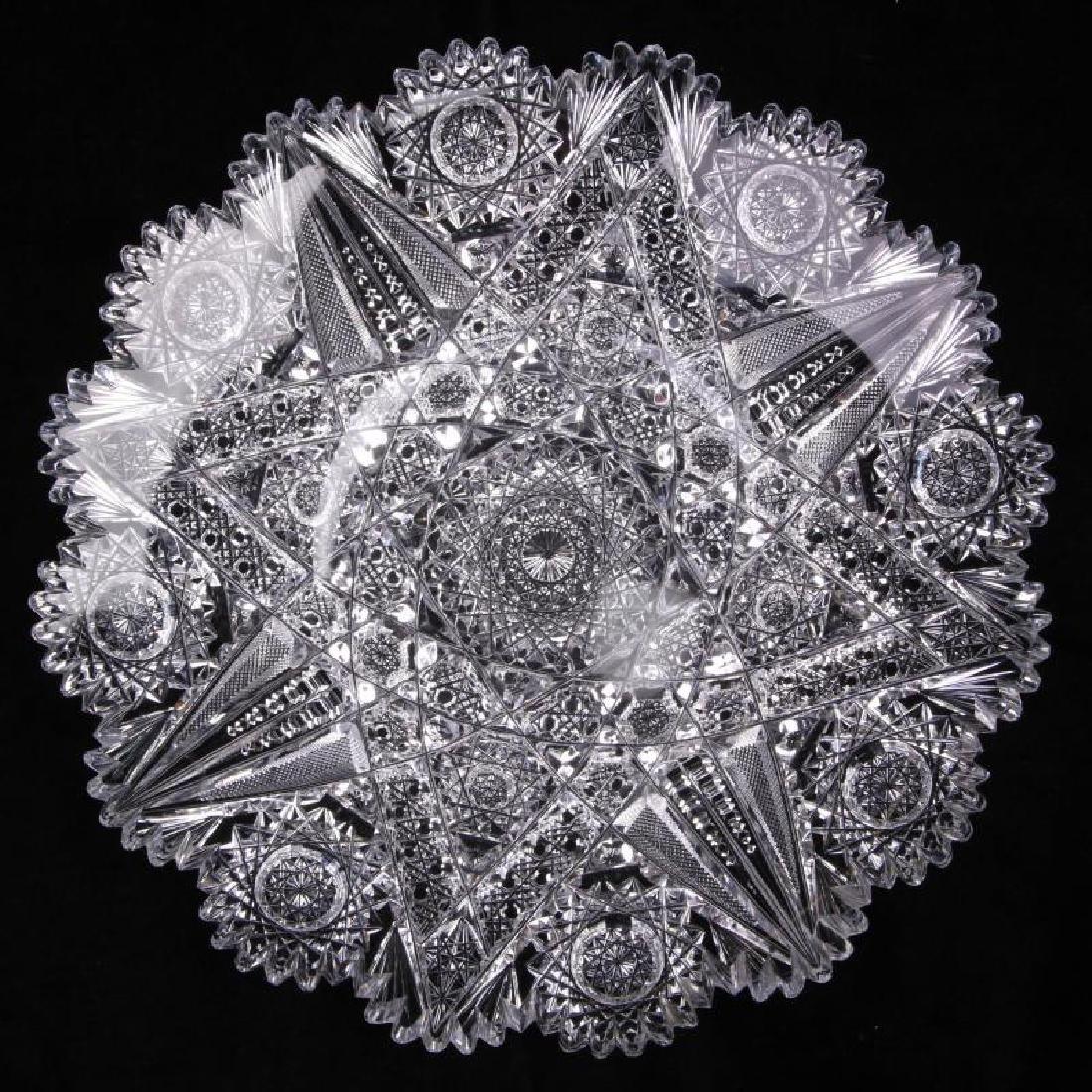 A 10-INCH ABP PLATE IN CAROLYN PATTERN BY J. HOARE
