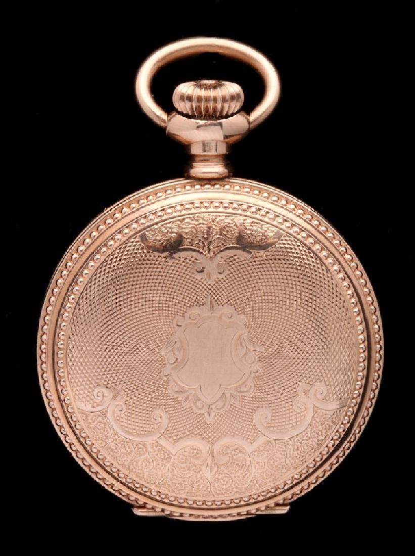 AN ELGIN HUNTING CASE POCKET WATCH
