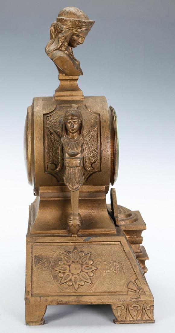 MITCHELL VANCE SETH THOMAS EGYPTIAN REVIVAL CLOCK - 13