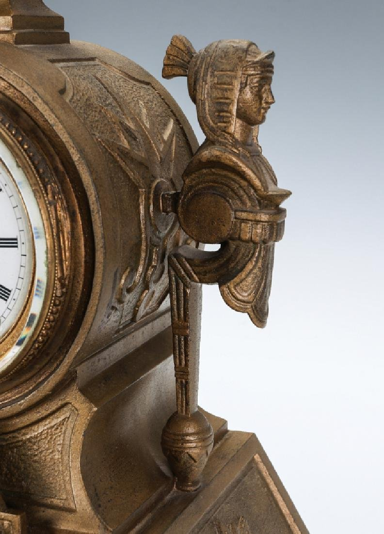 MITCHELL VANCE SETH THOMAS EGYPTIAN REVIVAL CLOCK - 3