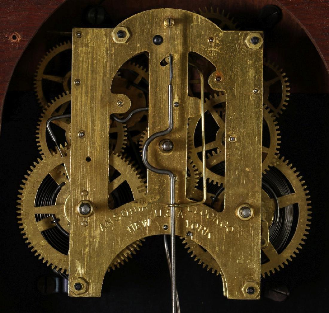 AN ANSONIA 'TRINIDAD' FANCY HANGING PARLOR CLOCK - 13