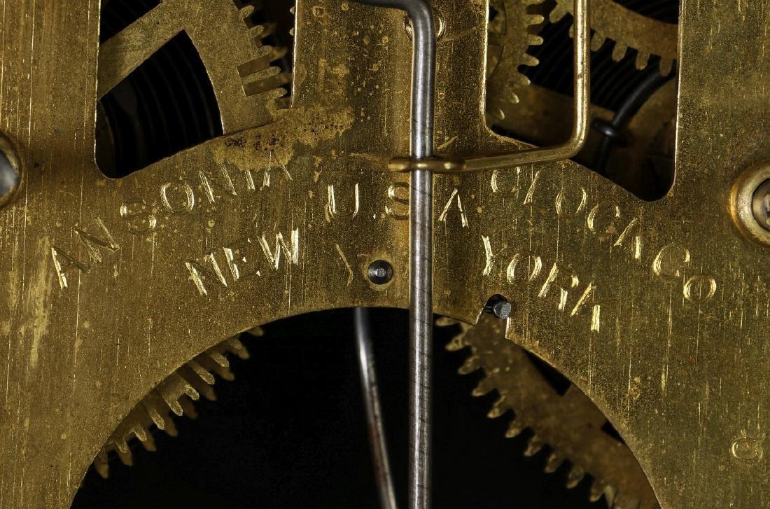 AN ANSONIA 'TRINIDAD' FANCY HANGING PARLOR CLOCK - 14
