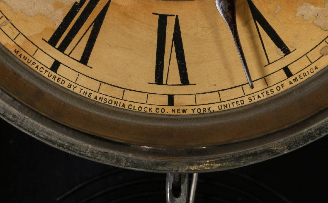 AN ANSONIA 'TRINIDAD' FANCY HANGING PARLOR CLOCK - 8