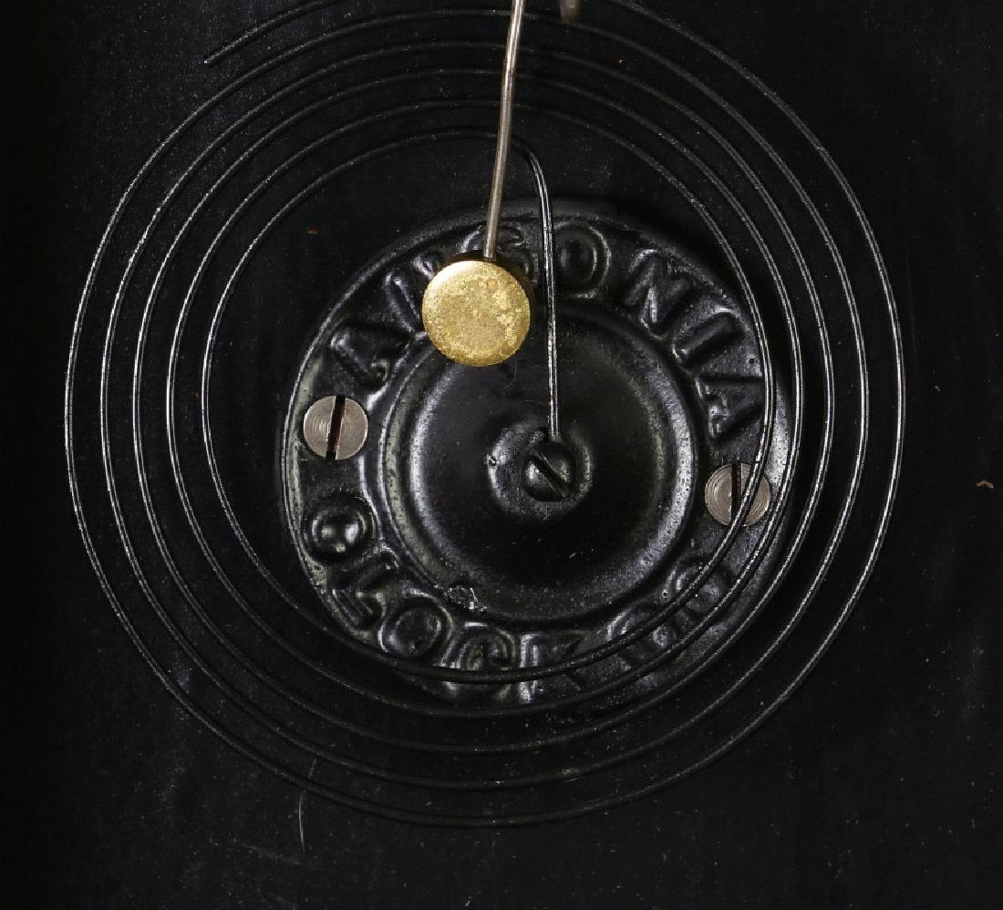 AN ANSONIA 'TRINIDAD' FANCY HANGING PARLOR CLOCK - 9