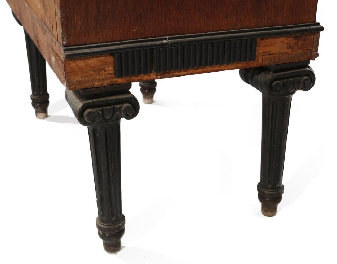 AN EARLY 20TH C. FLOOR STANDING TWO WT REGULATOR - 9