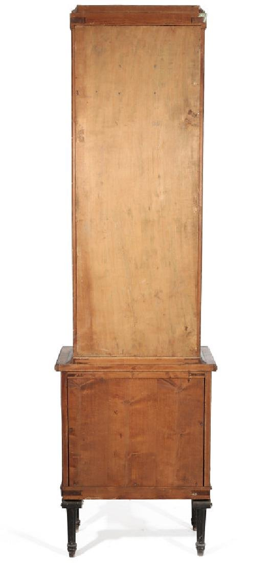 AN EARLY 20TH C. FLOOR STANDING TWO WT REGULATOR - 8