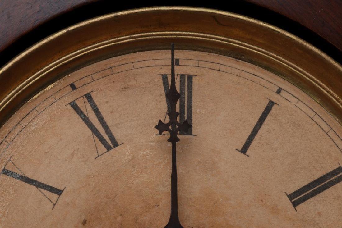 JAMES WOOD AMERICAN CLOCK CO FANCY PARLOR CLOCK - 8