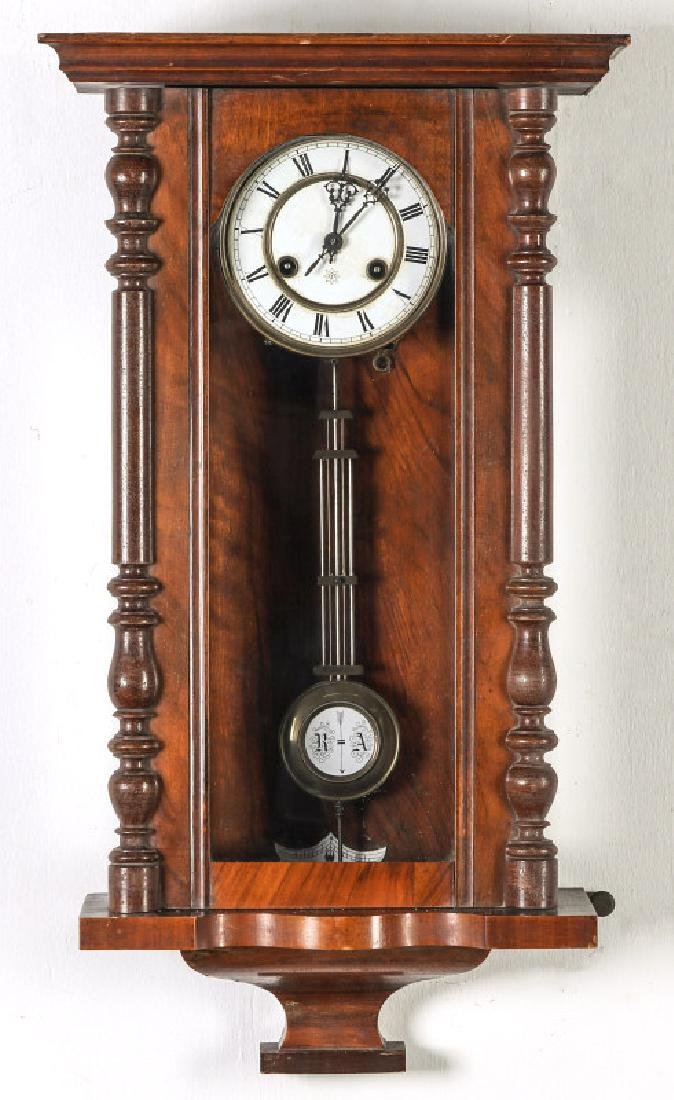 A JUNGHANS RA PENDULUM GERMAN WALL CLOCK