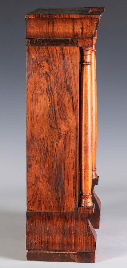 A SETH THOMAS ROSEWOOD COTTAGE CLOCK - 10