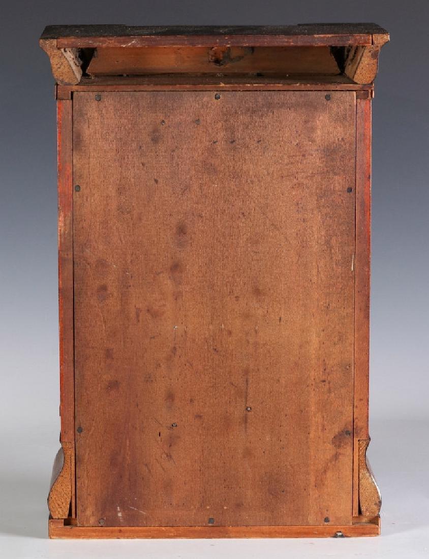 A SETH THOMAS ROSEWOOD COTTAGE CLOCK - 11
