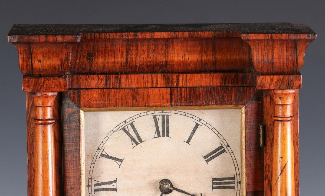 A SETH THOMAS ROSEWOOD COTTAGE CLOCK - 2