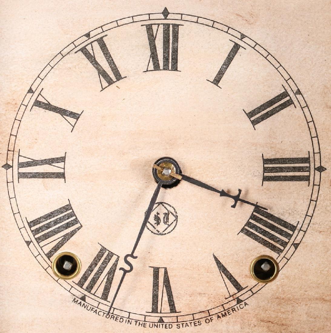 A SETH THOMAS ROSEWOOD COTTAGE CLOCK - 8