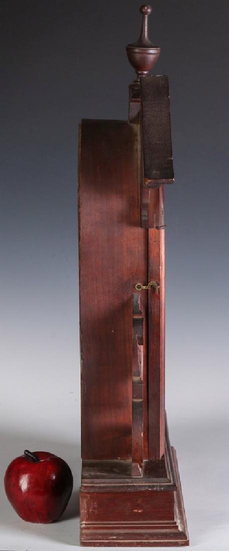 AN ORNATE VICTORIAN WALNUT PARLOR CLOCK ATTR OWEN - 8