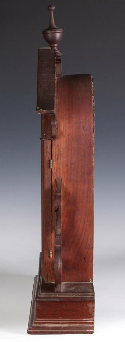 AN ORNATE VICTORIAN WALNUT PARLOR CLOCK ATTR OWEN - 9