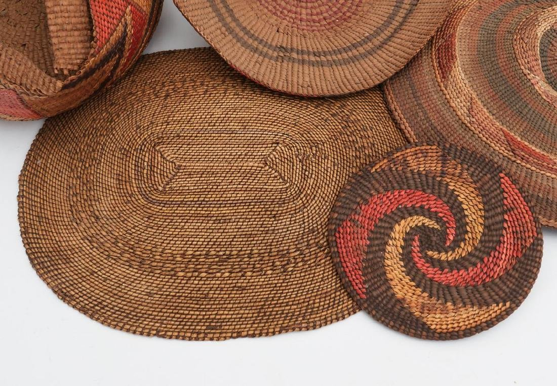 A COLLECTION OF NORTHWEST COAST BASKETRY - 2
