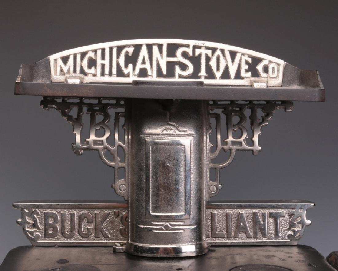 A MICHIGAN STOVE CO. 'BUCK'S BRILLIANT' TOY STOVE - 2