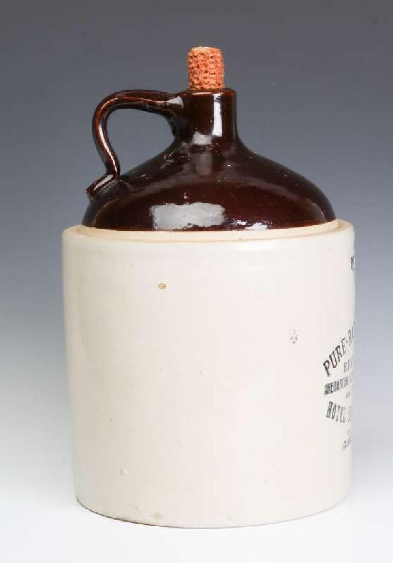 A SCARCE RADIUM WATER HOTEL SEQUOYAH ADVTG JUG - 3