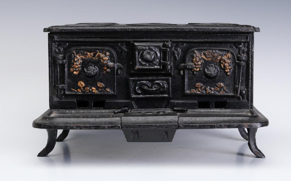 A 19TH CENTURY SAMPLE STOVE 'MAMMOTH RANGE'
