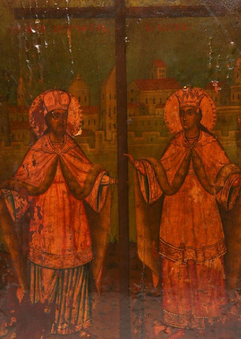 TWO 19TH CENTURY ECCLESIASTICAL PAINTINGS - 2