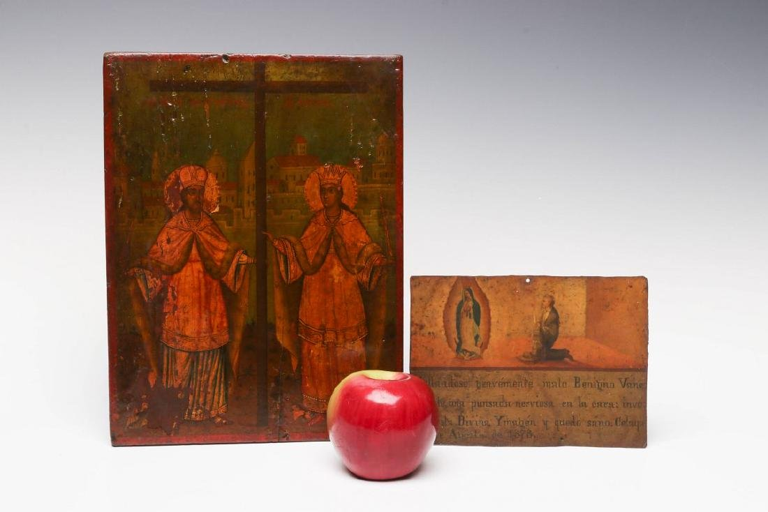 TWO 19TH CENTURY ECCLESIASTICAL PAINTINGS - 4