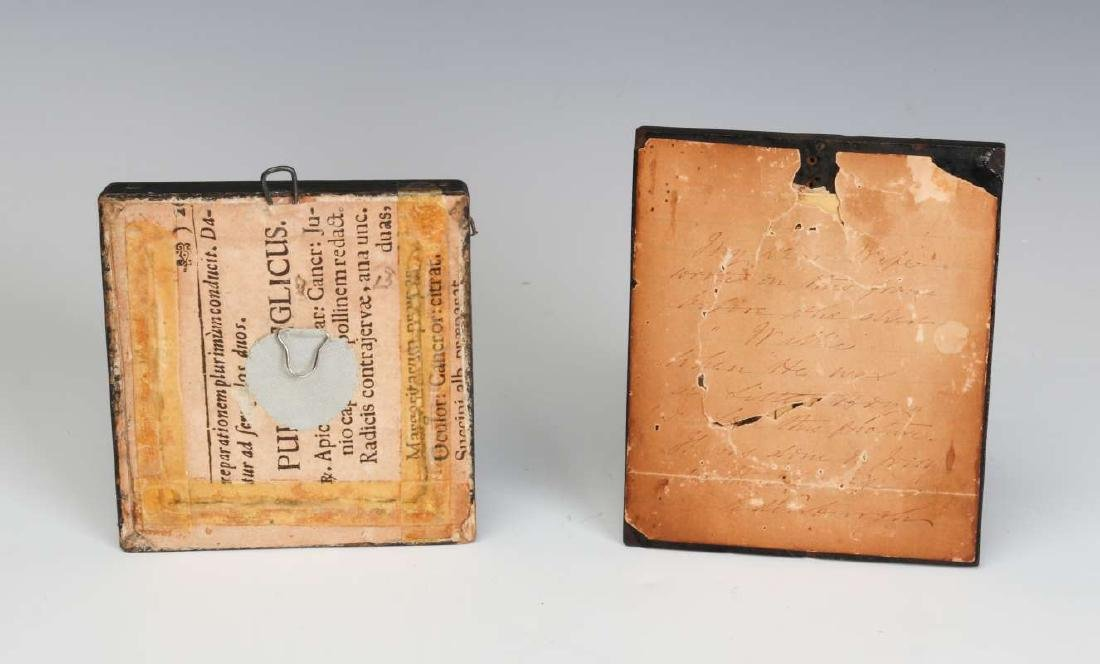 TWO 19TH CENTURY MINIATURE PORTRAIT PAINTINGS - 6