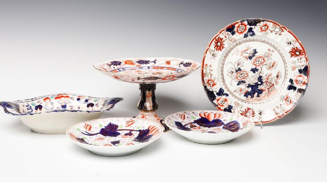 MASON'S IRONSTONE, OTHER IMARI INFLUENCE CERAMICS