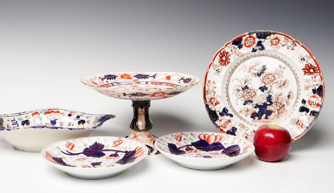 MASON'S IRONSTONE, OTHER IMARI INFLUENCE CERAMICS - 5