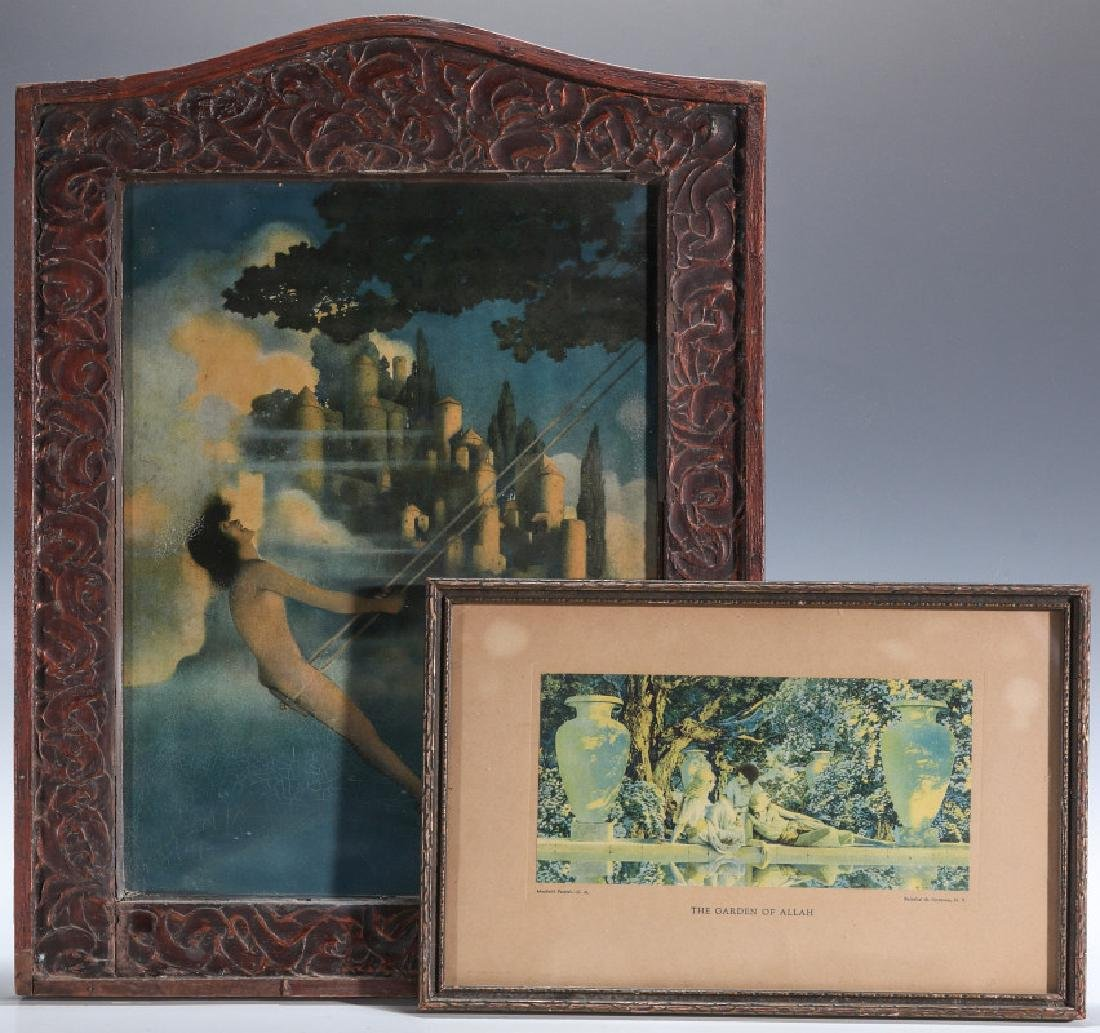 TWO PRINTS AFTER MAXFIELD PARRISH, CIRCA 1930s