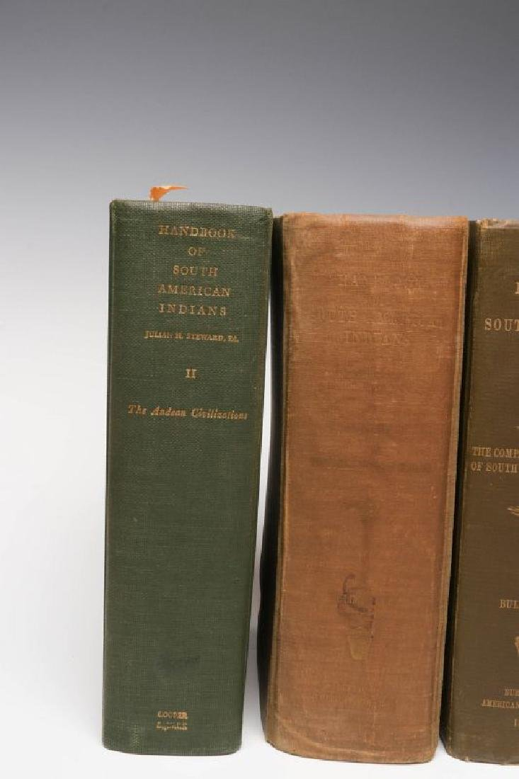SIX VOLUMES OF HANDBOOK OF SOUTH AMERICAN INDIANS - 2