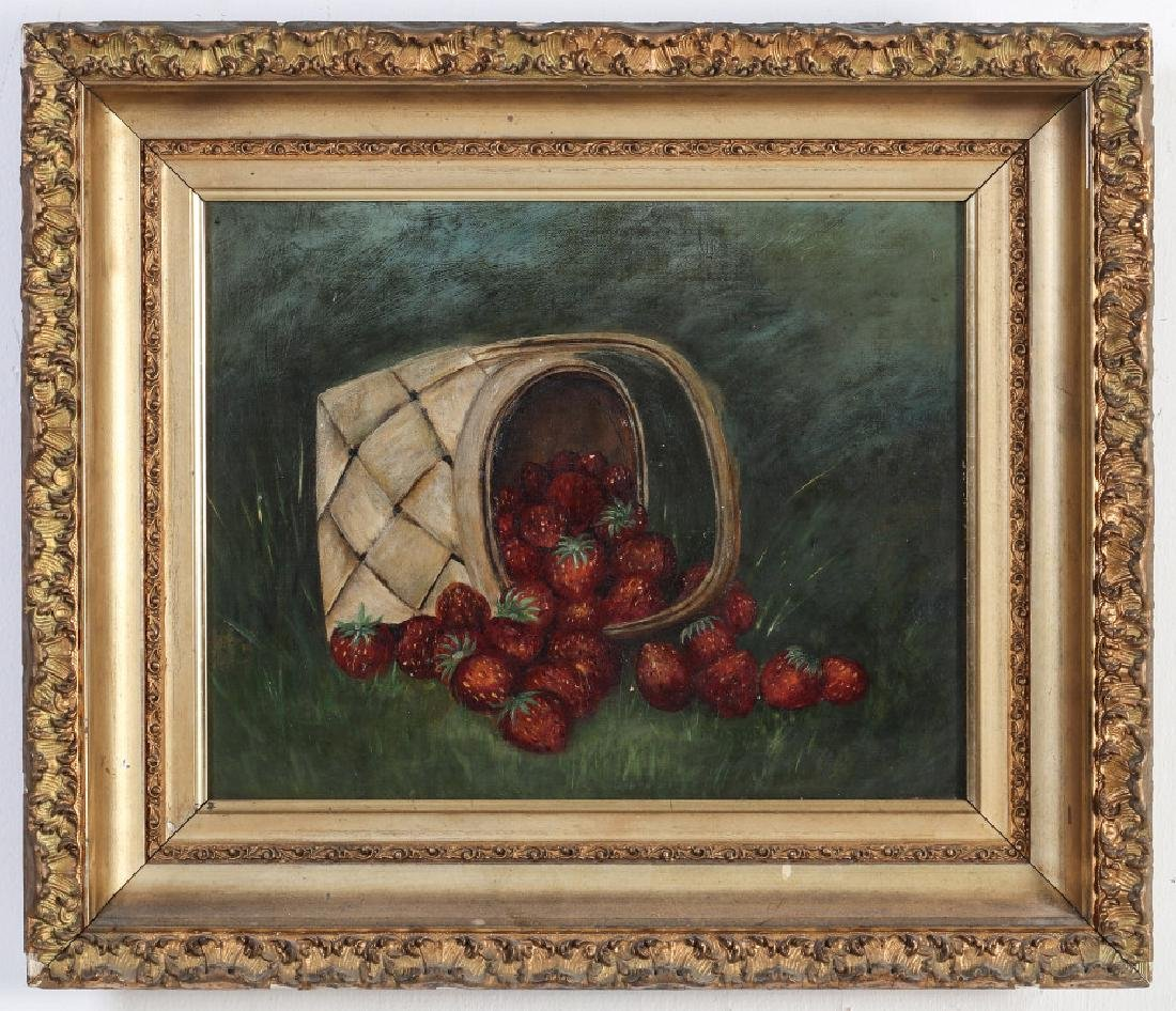 AMERICAN SCHOOL STILL LIFE WITH STRAWBERRIES - 2