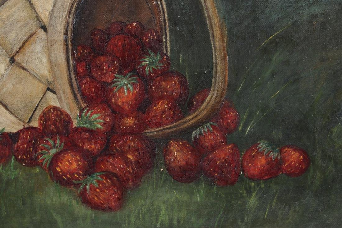 AMERICAN SCHOOL STILL LIFE WITH STRAWBERRIES - 7