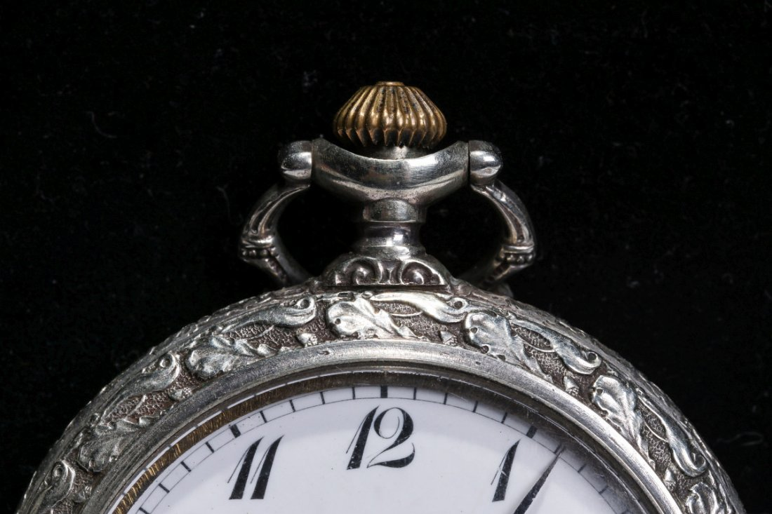 A PATEK PHILLIPPE POCKET WATCH CIRCA 1915 - 2