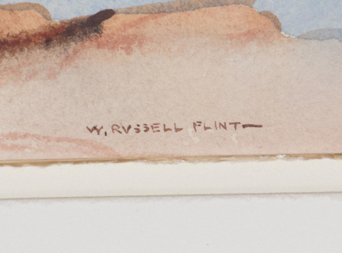 WILLIAM RUSSELL FLINT (1880-1969) WATERCOLOR - 7