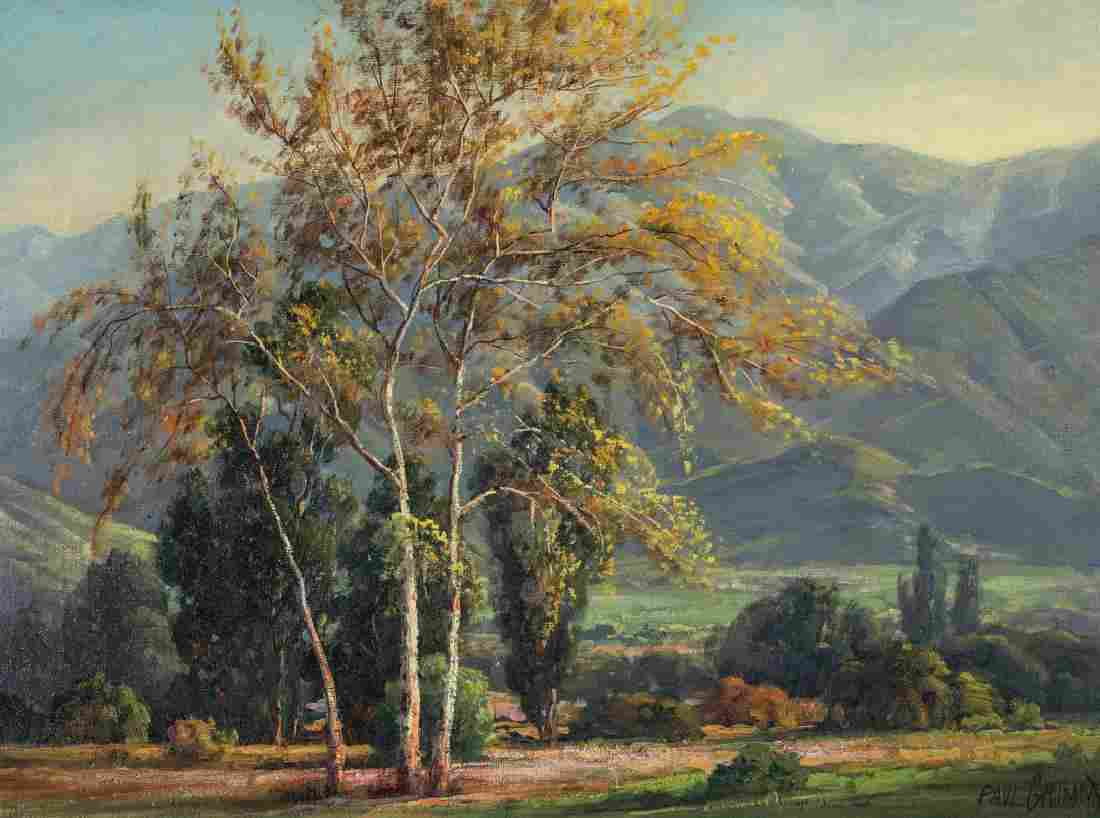 PAUL GRIMM (1891-1974) OIL ON CANVAS