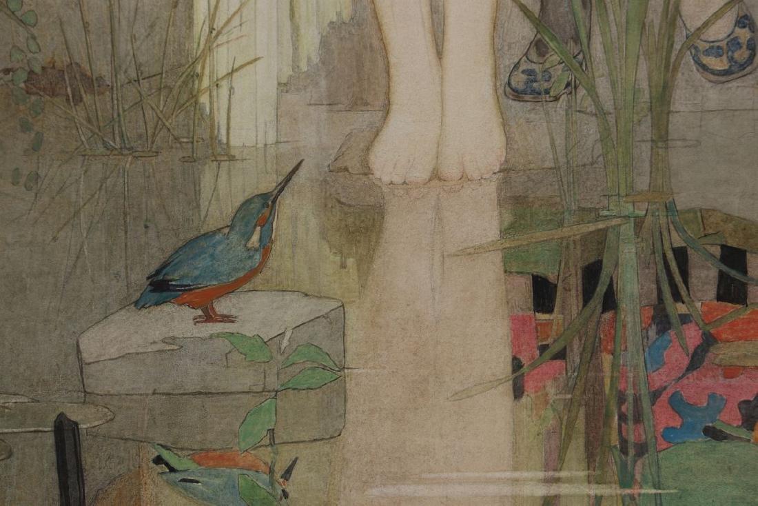 DOROTHY WEBSTER HAWKSLEY (1884-1970) WATERCOLOR - 7