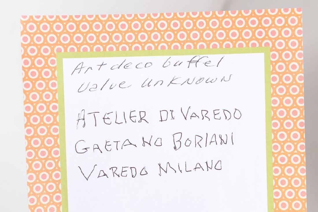 AN OSVALDO BORSANI ITALIAN ART DECO SIDEBOARD - 15
