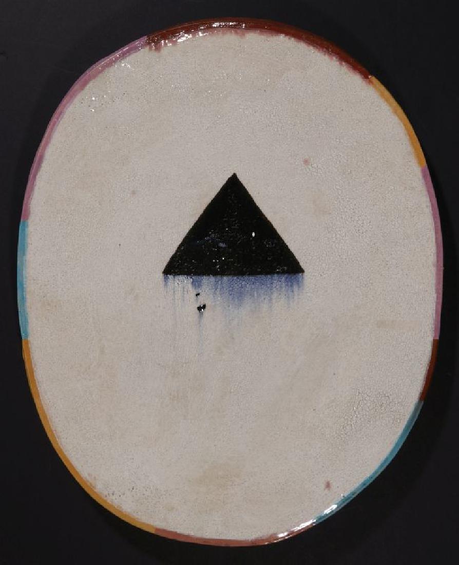 JUN KANEKO (JAPANESE BORN 1942) EARTHENWARE SLAB