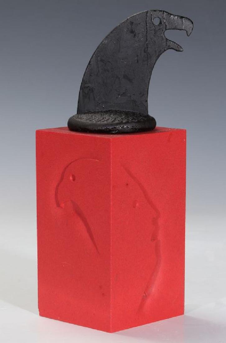 KEITH BROCKLEHURST (B. 1946) PATE DE VERRE BOX