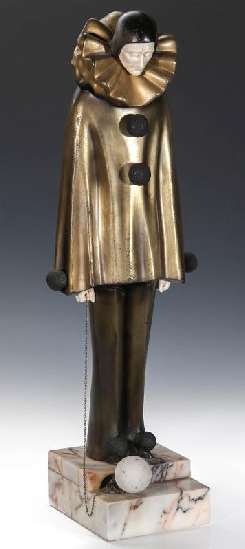 A ROLAND PARIS (1894-1945) ART DECO SCULPTURE