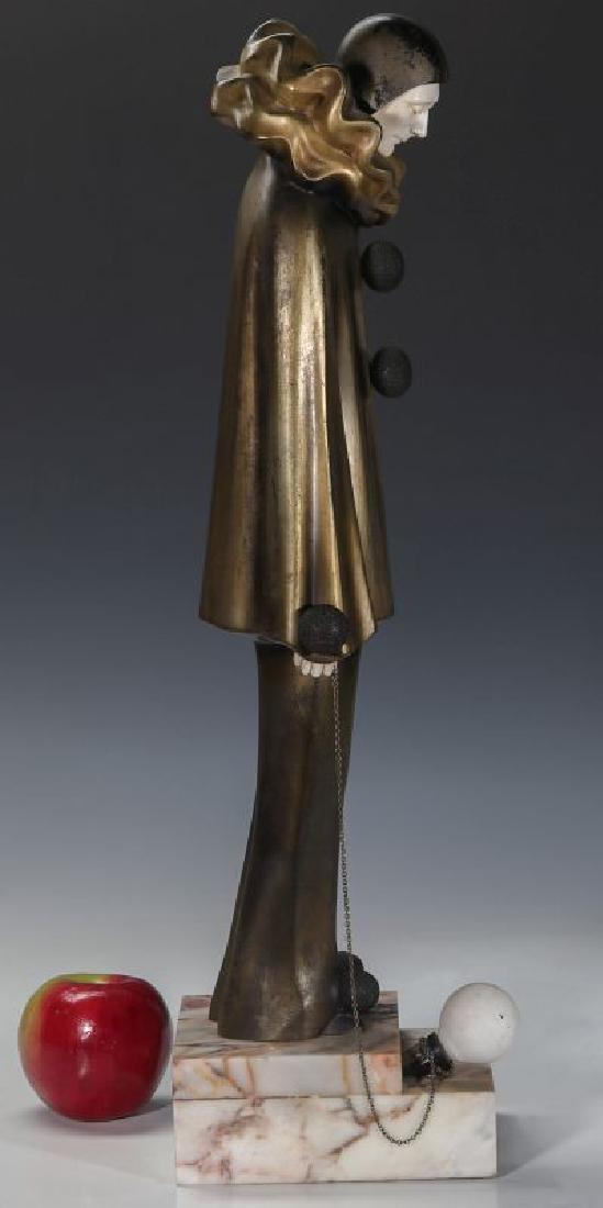 A ROLAND PARIS (1894-1945) ART DECO SCULPTURE - 6