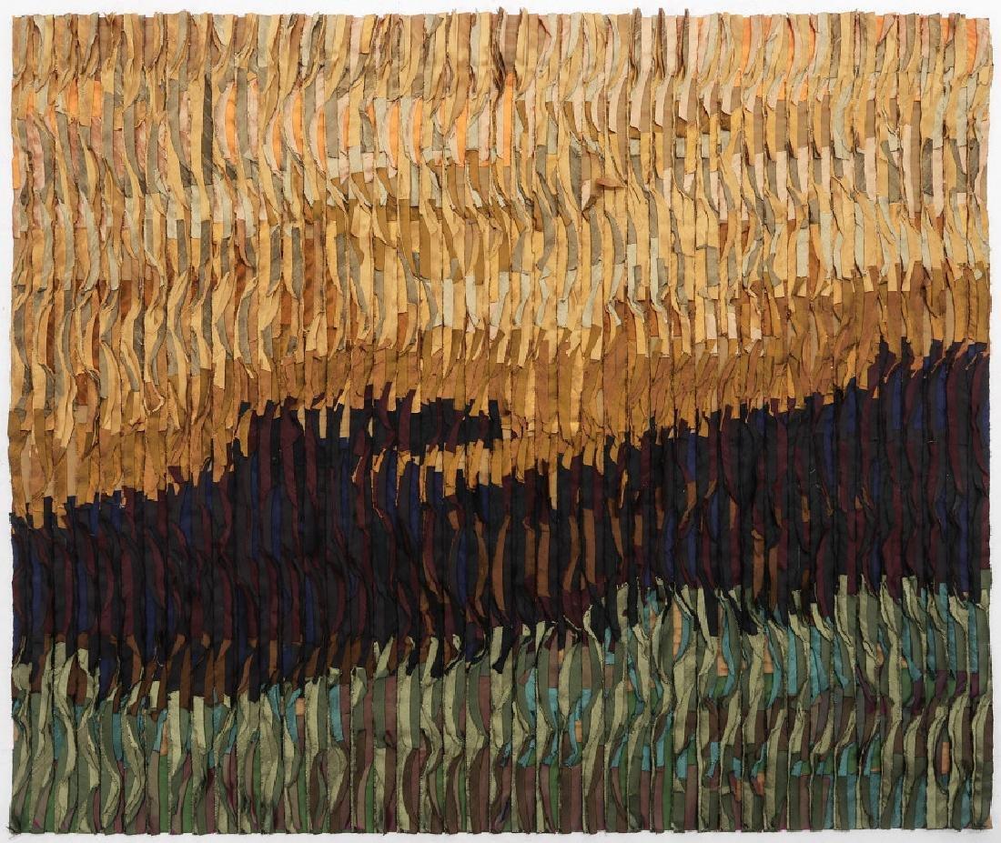 TIM HARDING (20/21ST CENTURIES) FIBER ART