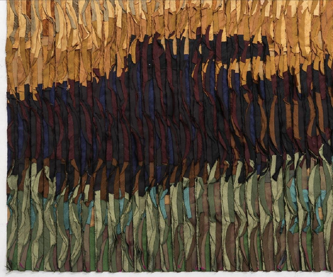 TIM HARDING (20/21ST CENTURIES) FIBER ART - 5