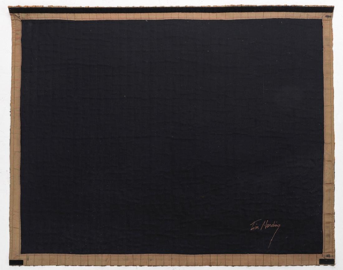 TIM HARDING (20/21ST CENTURIES) FIBER ART - 7