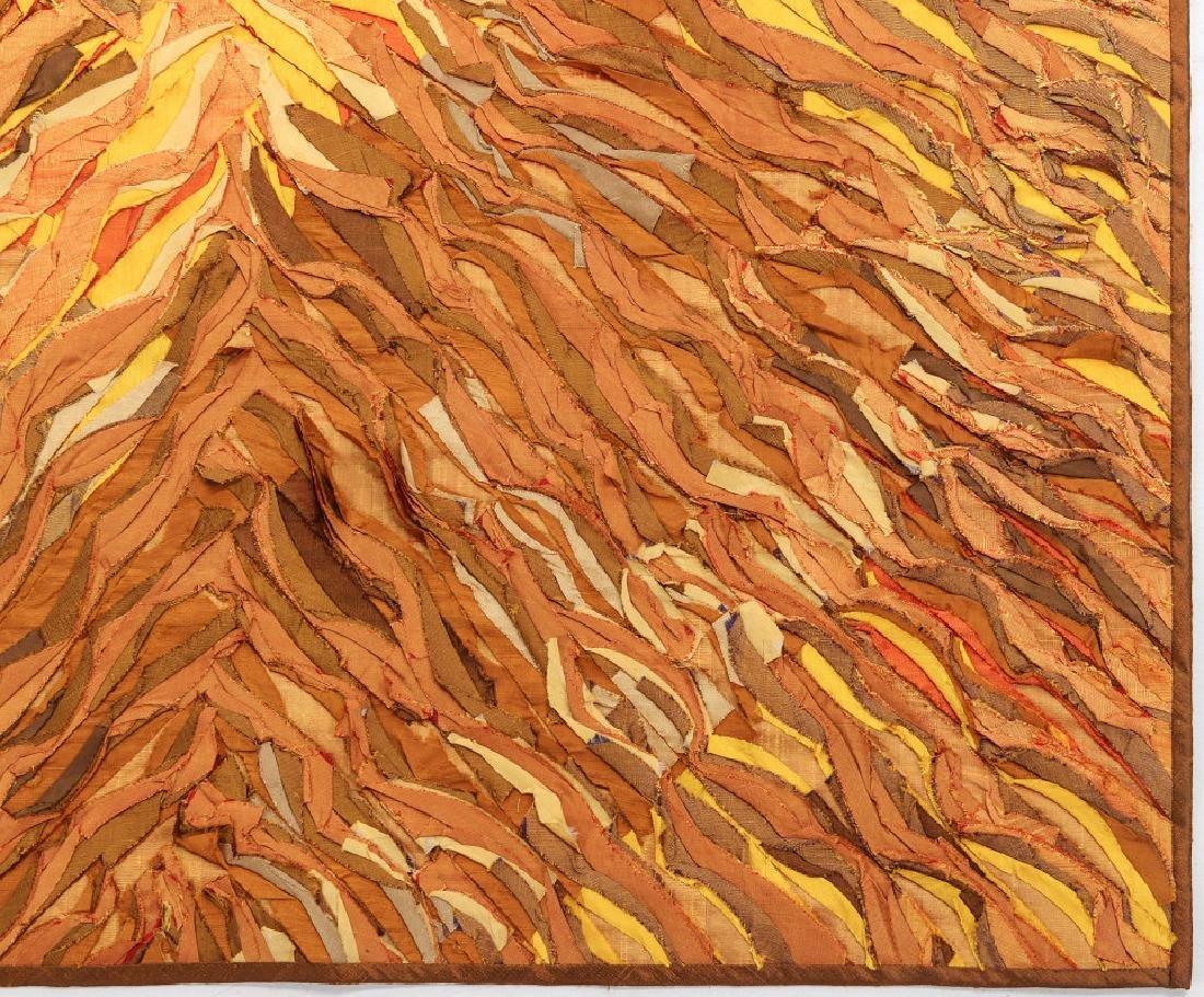 TIM HARDING (20/21ST CENTURIES) FIBER ART - 4